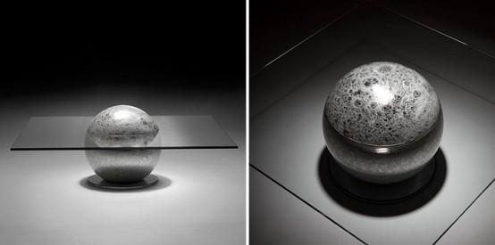Awesome Mysterious Coffee Table La Lune By Liana Yaroslavsky