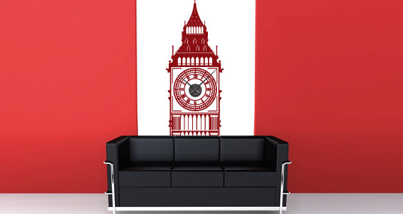 Awesome Wall Clocks Wall Stickers By Dezign With A Z