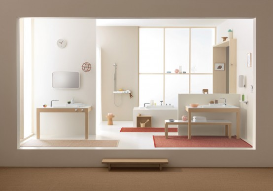 Good Looking and Flexible Collection of Bathroom Products – Axor Bouroullec