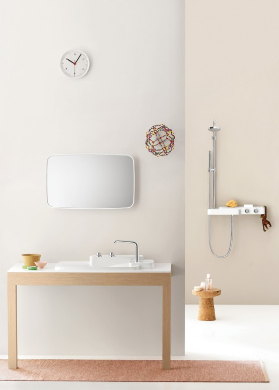 axor, bathroom furniture, bathroom line, bathroom sanity ware,  elegant sanitary ware, ronan and erwan bouroullec, bathroom appliances