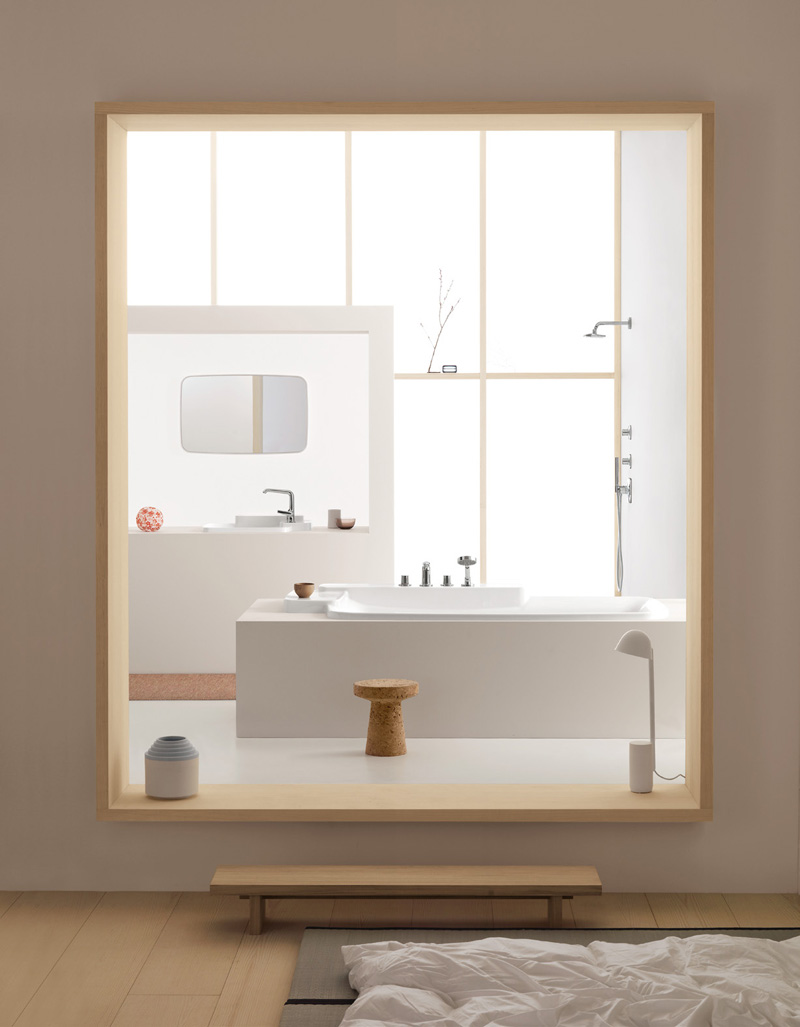 good looking and flexible collection of bathroom products