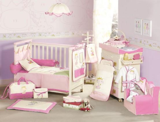 Baby Nursery Furniture For Prince And Princess Room