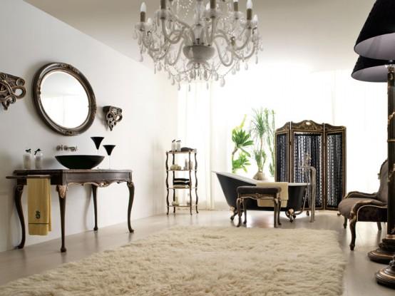 Beatiful Luxury Bathroom Designs COLLEZIONE 1941 By Savio Firmino 1 554x
