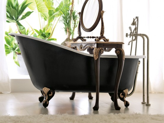 Luxury accessories for luxury bathrooms Beatiful-Luxury-bathroom-designs-COLLEZIONE-1941-by-Savio-Firmino-5-554x415