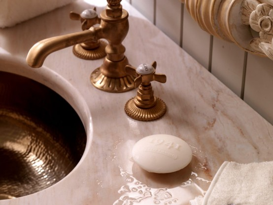 Beatiful Luxury Bathroom Designs COLLEZIONE 1941 By Savio Firmino