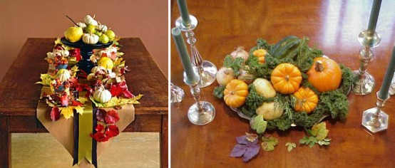 Beautiful Thanksgiving Table Decorations