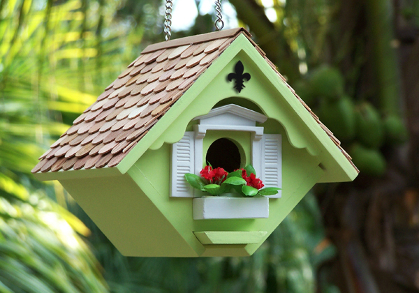 10 the most cool and cute bird houses and feeders digsdigs for Bird house styles