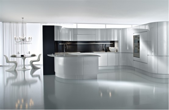 مطابخ باللون الاسود Black-and-white-kitchen-design-ideas-10-554x362