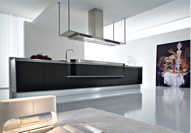 30 Black And White Kitchen Design Ideas | DigsDigs