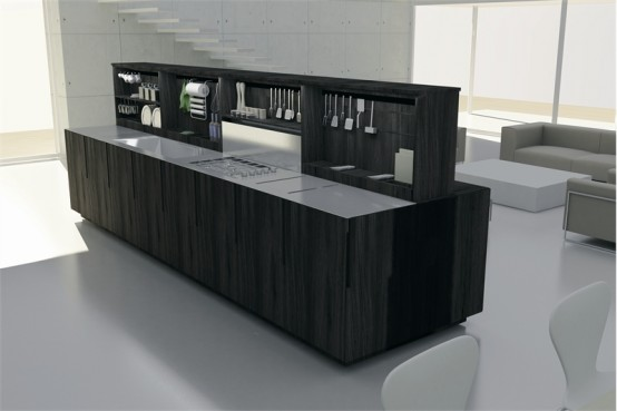 مطابخ باللون الاسود Black-and-white-kitchen-design-ideas-17-554x369