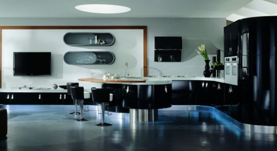 مطابخ باللون الاسود Black-and-white-kitchen-design-ideas-19-554x303