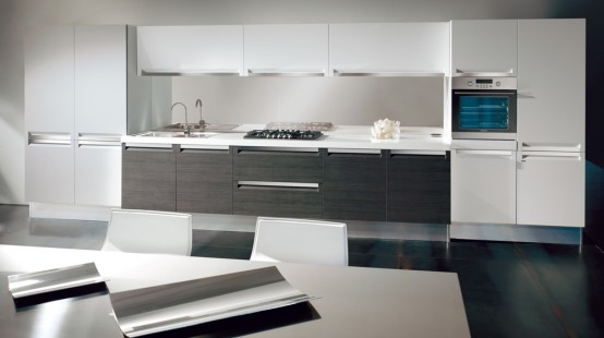 Black And White Kitchen Design Ideas