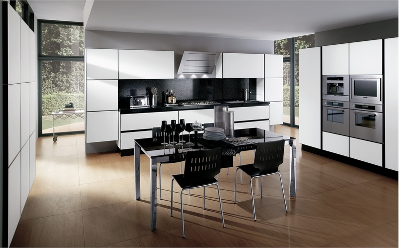 Black And White Kitchen Design Ideas 30 Jpg Pictures to pin on ...