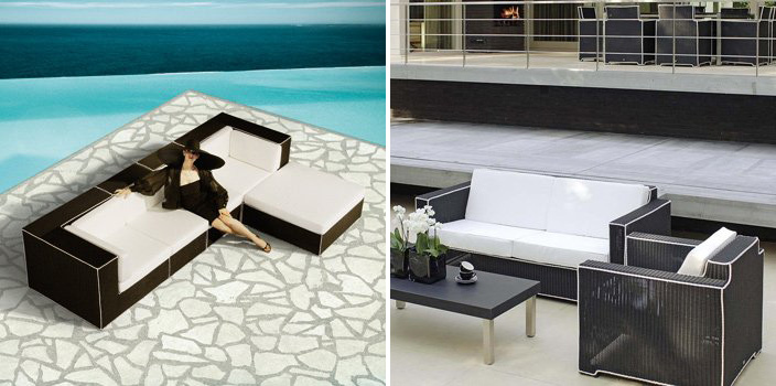 ... outdoor furniture modern outdoor furniture outdoor black and white