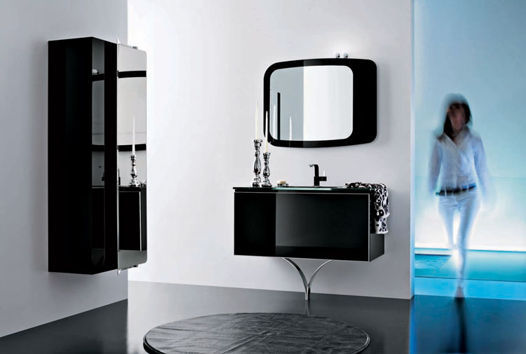 Advertisement for Onyx bathroom design