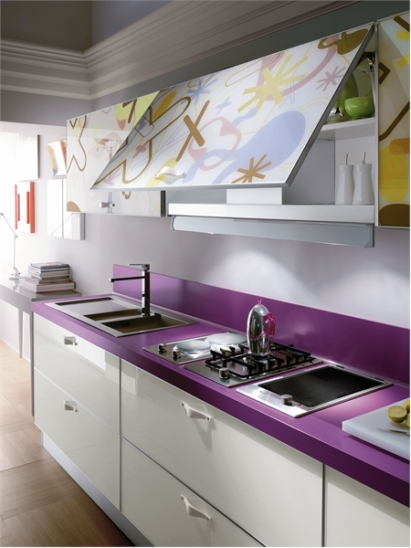Bright And Alive Modern Kitchen Designs – Crystal By Scavolini