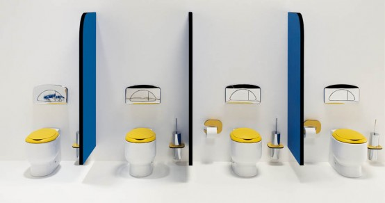 Cool Kids Bathroom Design by Sanindusa