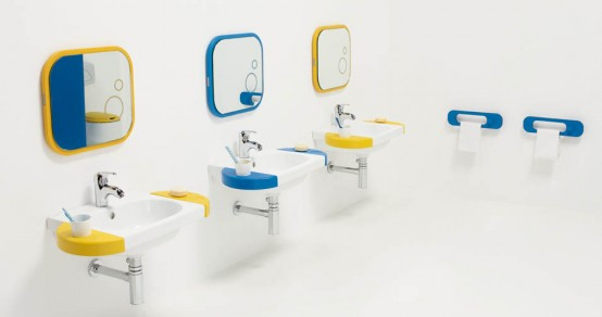 Bright And Funny Kids Bathroom Design Wckids By Sanindusa