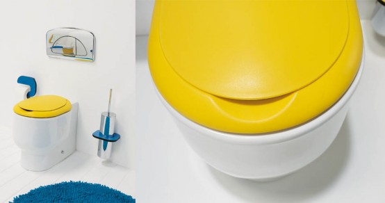 Marvelous Bright And Funny Kids Bathroom Design Wckids By Sanindusa