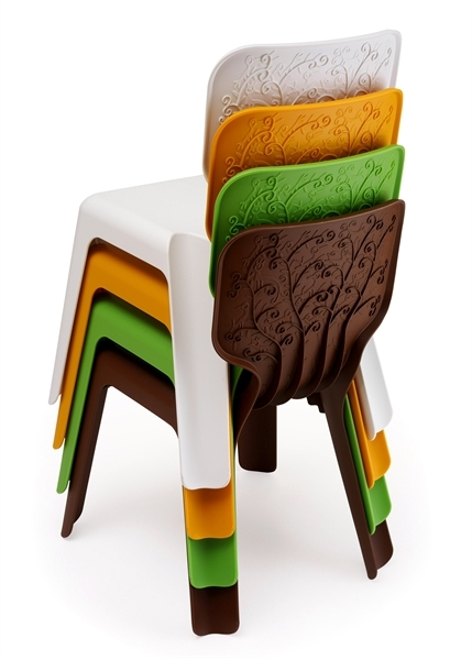 Bright Child's Table And Chairs Me Too Collection By Magis