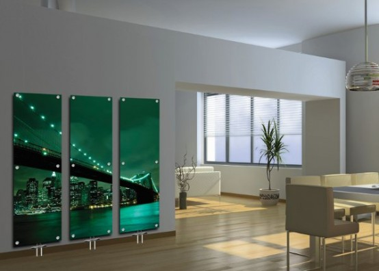 Contemporary Glass Radiators for Central Heating System – Art Glass Radiators
