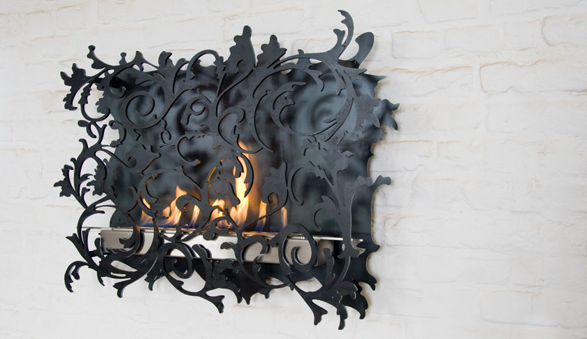 Charming Wall Mount Fireplace – Mazzetto by Redwitz