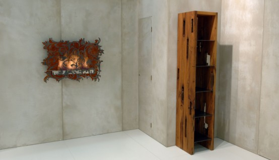 Charming Wall Mount Fireplace Mazzeto By Redwitz