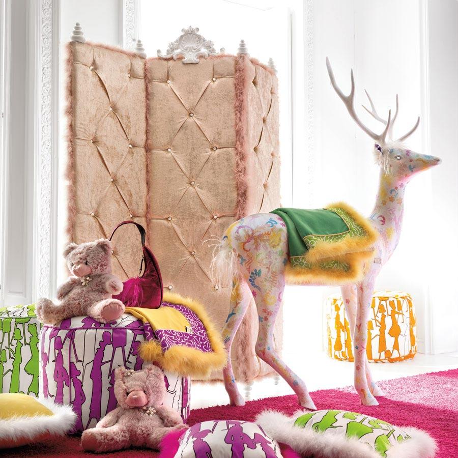 Charming And Opulent Pink Girls Room Altamoda Girl