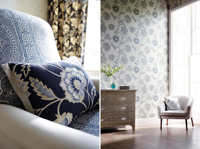 contemporary fabric for harmonious interior design