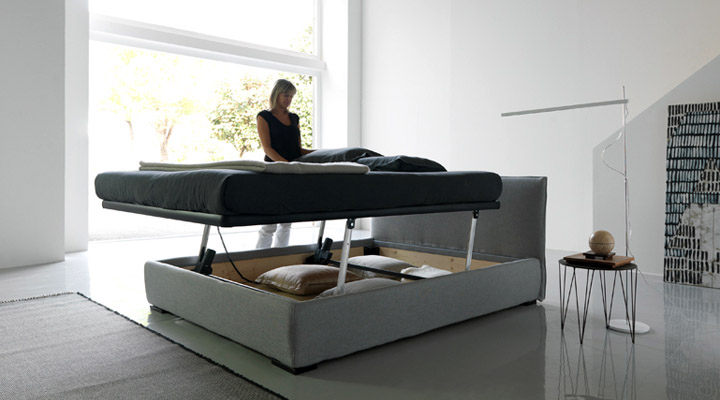 Contemporary italian beds by bolzan digsdigs for New modern bed design