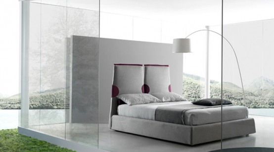 Contemporary Italian Beds By Bolzan Paciugo