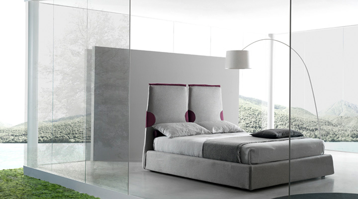 Contemporary Italian Beds by Bolzan