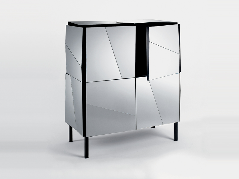 Contemporary Sideboards With Mirror Finish – Psiche by Tonelli