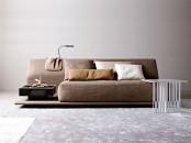 Contemporary Comfortable Sofa Night & Day By Molteni