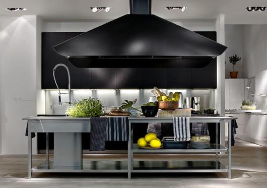 Contemporary Kitchen With Modular Work Island  EL_01 By Elmar