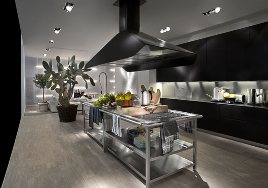 Contemporary Kitchen With Modular Work Island  EL_01 By Elmar