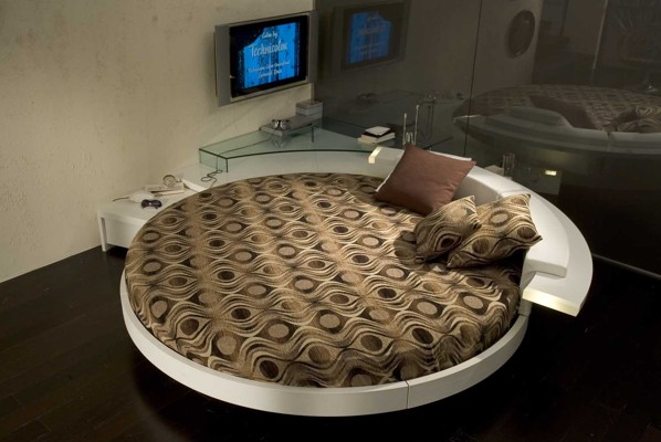 round bed leather bed modern bed design modern beds modern round beds