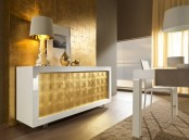 Contemporary White Sideboards With Luxury Finishes By Rifleshi