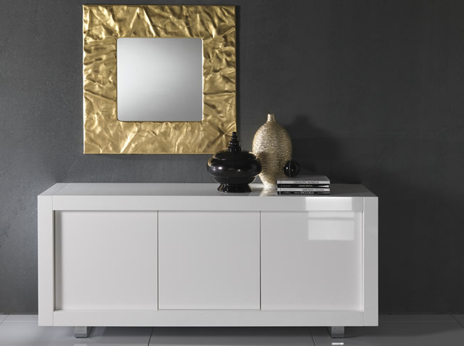Sideboard Buffet Decor Ideas Mirror