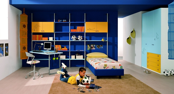 25 cool boys bedroom ideas by zg group digsdigs for Cool kids rooms decorating ideas