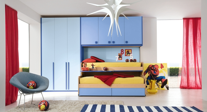 25 cool boys bedroom ideas by zg group digsdigs for Kids bedroom designs