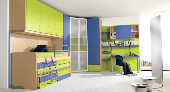 25 cool boys bedroom ideas creative home design for Cool kids bedroom designs