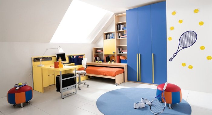 25 cool boys bedroom ideas by zg group digsdigs for Cool kids bedroom designs