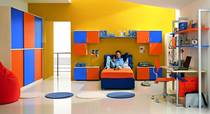 25 cool boys bedroom ideas by zg group digsdigs for Dormitorio 3x3