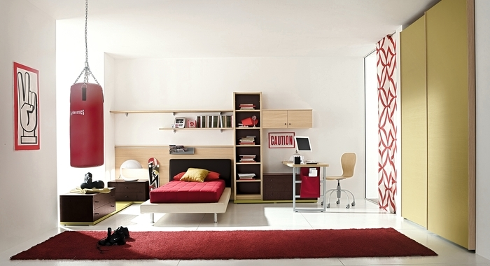 25 cool boys bedroom ideas by zg group digsdigs for Funky bedroom ideas