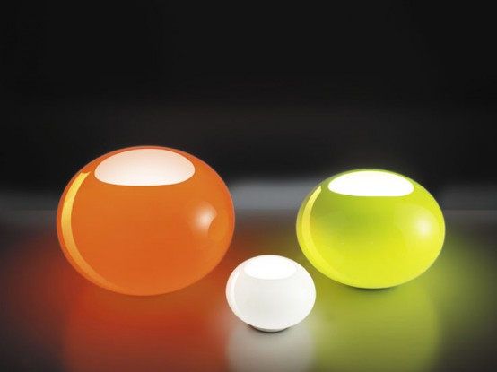 lucente lighting. Cool Colorful Glass Lamps Noa By Lucente Lighting