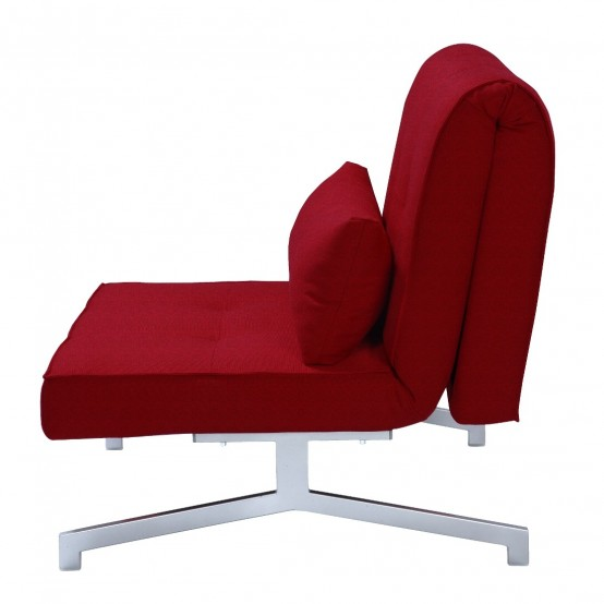 Cool Convertible Chair Bed Bed Chair Cardini Uno DigsDigs