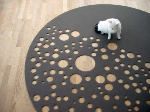 Cool Floor Carpet – Dark Side of the Moon by Vorwerk