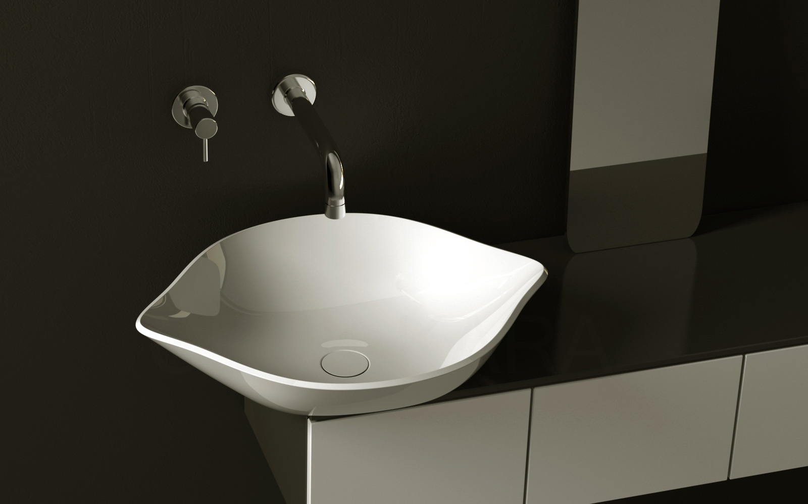 Cool fruit inspired bathroom sinks lemon by cenk kara for Bath toilet and sink