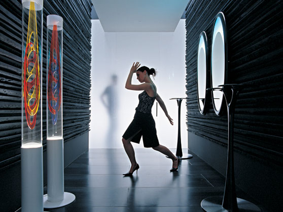 Cool Futuristic Ceiling And Floor Lamps By Odue